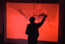Interactive Wall #1 // Contre Temps 2011