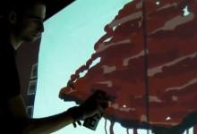 Interactive Wall #2 // Festival Natala 2011