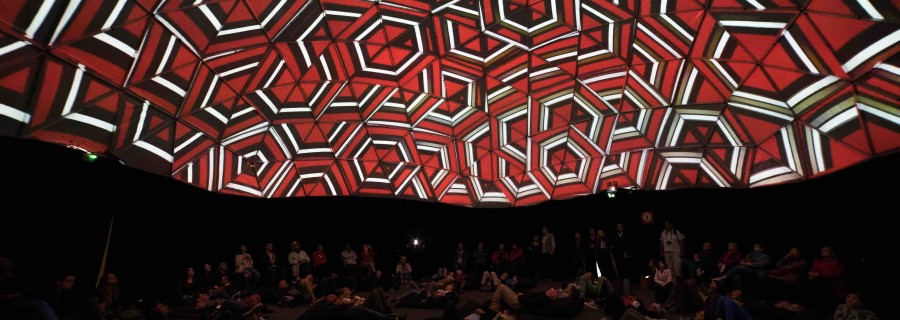 PIXIS / 360° immersive projection